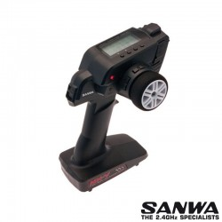Radio MX-V 2,4G 3 Canali con RX WATERPROOF - SANWA SR-101A30885A