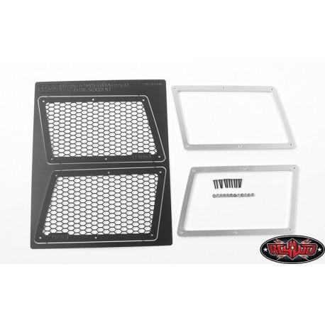 Griglie Vetri AXIAL SCX10 XJ (Versione A) - CCHend VVV-C0306