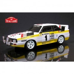 AUDI QUATTRO RALLY 1985 ARTR (VERNICIATA) - The Rally Legends EZRL006