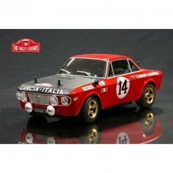 FULVIA HF 1600 RALLY 1972 ARTR (VERNICIATA) - The Rally Legends EZRL076