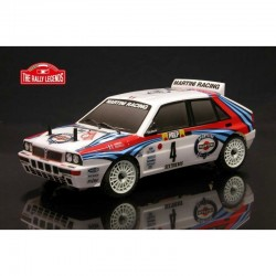 LANCIA DELTA RALLY EVO 2 1992 ARTR (TRASPARENTE) - The Rally Legends EZRL0926
