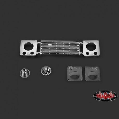 Set Griglia e Fari D90 - RC4WD Z-B0051