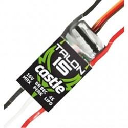 ESC TALON 15 AMP 4S BEC 8 AMP - Castle Creations