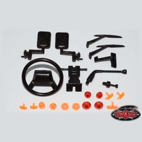 Set luci e Plastiche Defender 90 - RC4WD Z-B0034