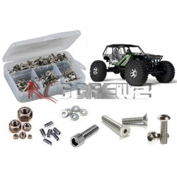 Set COMPLETO Viti in Acciaio INOX per Axial Wraith - RC Screwz RC-ZAXI004