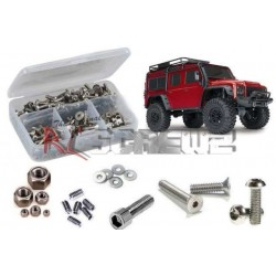 Set COMPLETO Viti in Acciaio INOX per TRX4 TRAXXAS DEFENDER - RC Screwz RC-ZTRA081