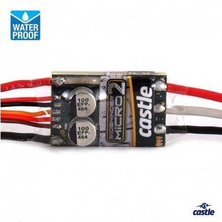 ESC Sidewinder MICRO2 Waterproof - CASTLE CREATIONS CC-010015000