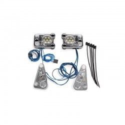 FARI A LED del KIT LUCI WATERPROOF per TRX-4 DEFENDER - TRAXXAS TRX4-8027