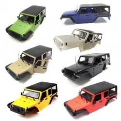 KIT Carrozzeria Jeep Rubicon 4 PORTE in ABS (Multicolori) - TRC TRC-302281