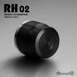Hubcaps RH02, 1:10 scale - GMADE