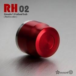 Coprimozzi RH02 ROSSO in scala 1:10 - GMADE