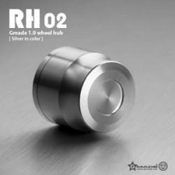 Coprimozzi RH02 ARGENTO in scala 1:10 - GMADE