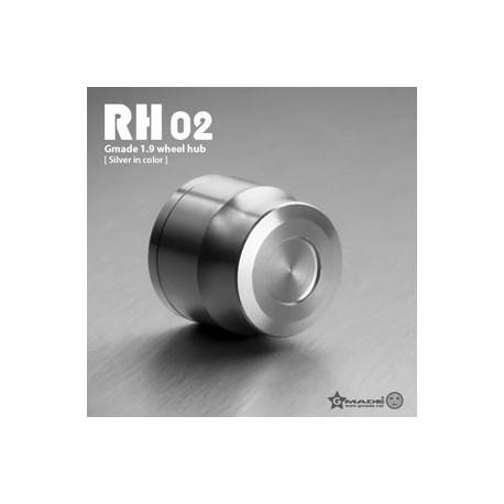 Coprimozzi RH02 ARGENTO in scala 1:10 - GMADE GM70122