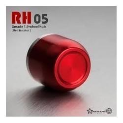 Coprimozzi RH05 ROSSO in scala 1:10 - GMADE