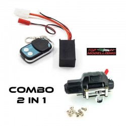 2 in 1 COMBO WINCH + control UNIT