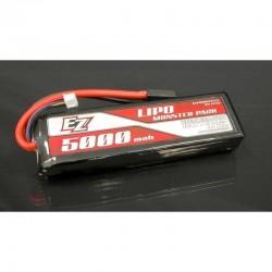 Batteria LiPo 5000mAh 11.1v 3s 40c HARDCASE - EZ POWER