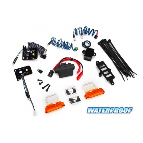 KIT LUCI LED WATERPROOF per TRX-4 BRONCO - TRAXXAS TRX4-8035