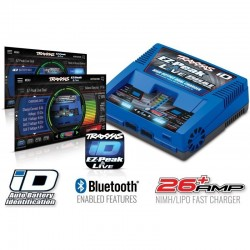 CARICABATTERIE SEMIAUTOMATICO EZ-PEAK LIVE DUAL ID BLUETOOTH - TRAXXAS