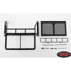 ROLLBAR, LIGHT BAR COMBO PER RC4WD CHEVY BLAZER BODY (NERO) - CCHand VVV-C0357
