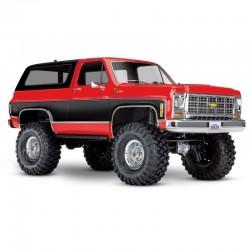 TRX-4 RTR 1:10 Chevrolet BLAZER trial crawler ROSSO - TRAXXAS TRX-82076-4R