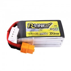 Batteria LiPo RLINE 850mAh 11.1v 3s 95c - TATTU