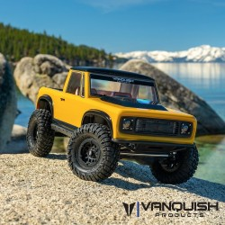 VS4-10 PRO BLACK ANODIZED ORIGIN HALFCAB in KIT di montaggio - VANQUISH VPS09004