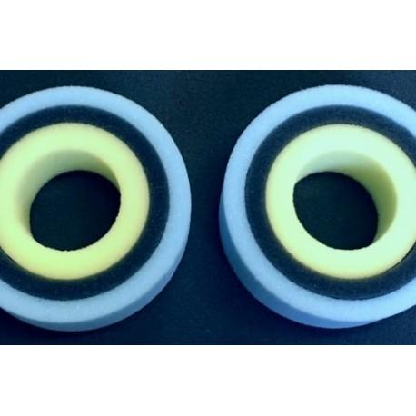 Spugne SUB10-3 per Gomme 1.9 KLR VOODOO - OTTSIX RC VOD-SPU-SUB10-3