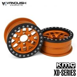 CERCHI KMC 2.2 XD229 MACHETE ORANGE ANODIZZATO - Vanquish