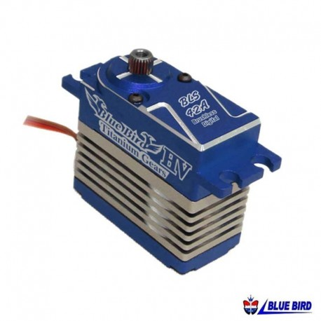 Servocomando in metallo High Voltage 47Kg - BLUE BIRD BLS-42A