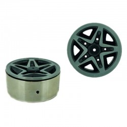 Set 4 Inch v6 1.9 in alluminio a 5 Razze - XTRA SPEED