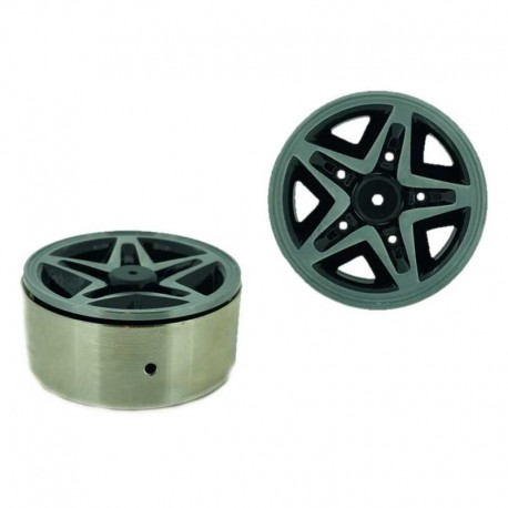 Set 4 Inch v6 1.9 in alluminio a 5 Razze - XTRA SPEED XS-59595