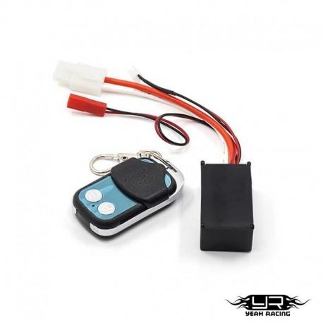 Centralina per verricelli (Con telecomando wireless) - YEAH RACING YA-0389