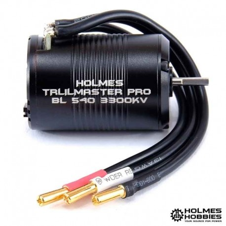 Can notice it from PRO BL 540 3300kv - Holmes Hobbies HH-120100007