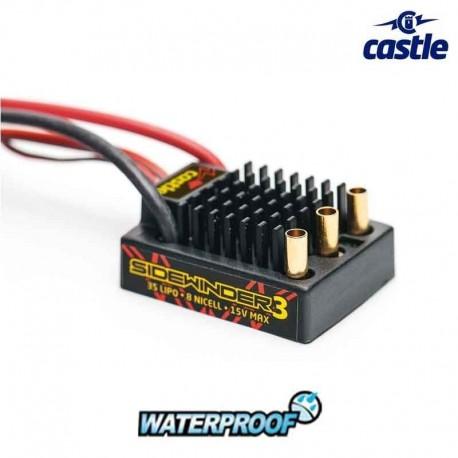 ESC - Castle Sidewinder SV3 Waterproof CC-010-0115-00