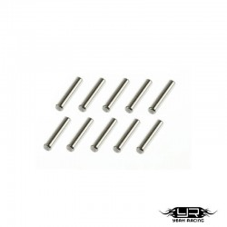 Pin in acciaio 2x10mm - YEAH RACING
